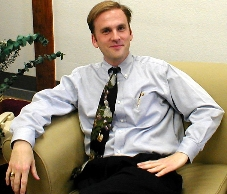 Dr. Cole Bennett, Director of the Writing Center at ACU